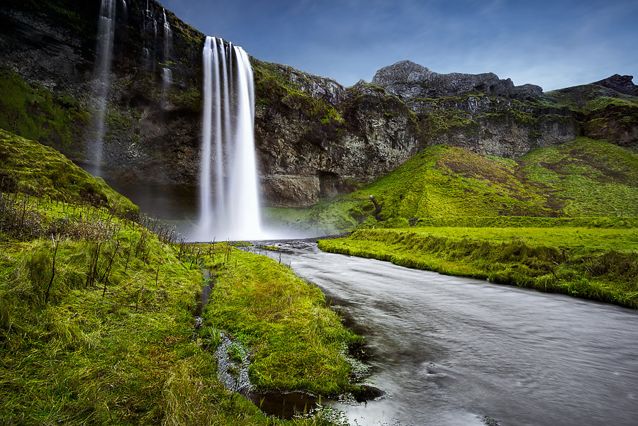 The Fall of Seljalandsfoss